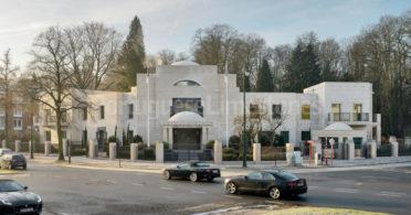 Qatar Embassy Moca Cream limestone - Brussels, Belgium