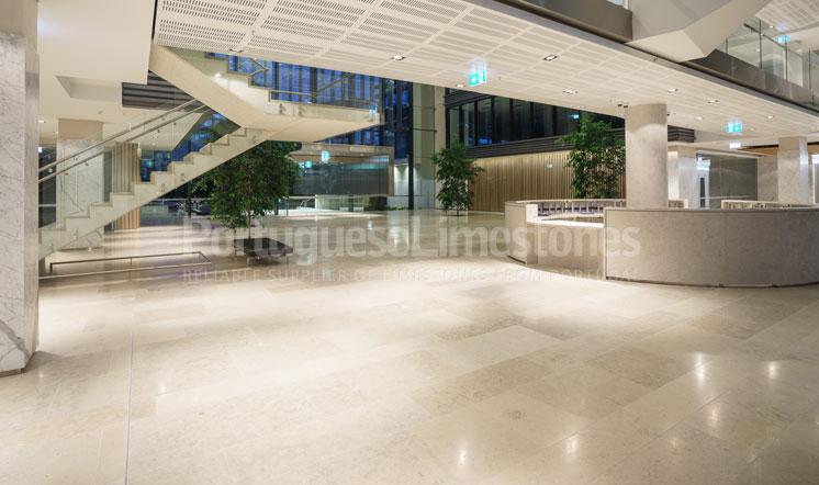 Moleanos Blue limestone flooring