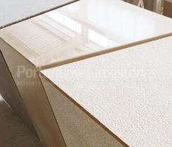 Decorative tables in limestone