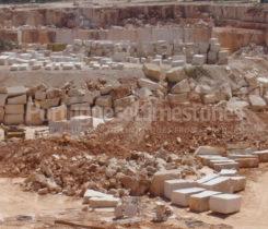 Moca Cream limestone quarry