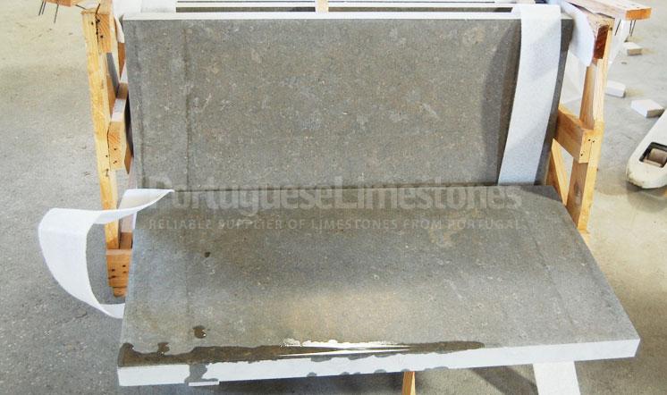 Perlato limestone panels