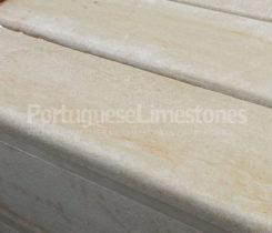 Portuguese limestone kerbs