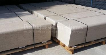 Grey limestone street applications