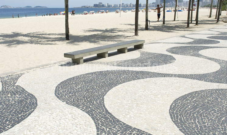 Portuguese limestone traditional flooring