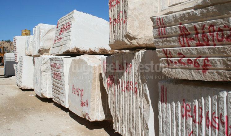 Rosal limestone blocks