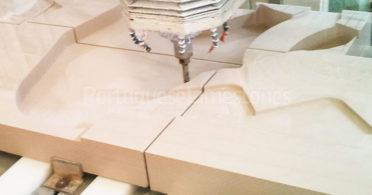 Waterjet limestone cutting