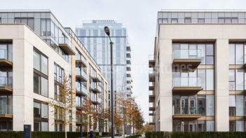 Moleanos Fine limestone cladding - Lillie Square London